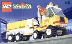 Lego City Mini Figure Set #1252 Shell Tanker by LEGO. $23.99. Lego City Mini Figure Set #1252 Shell Tanker. Lego City Mini Figure Set #1252 Shell Tanker  brand new factory sealed box