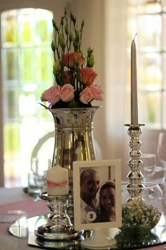 Centro de Mesa / Wedding Table Decoration