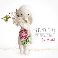 Free Lalylala Bunny Modification Pattern