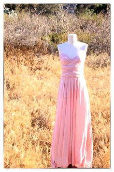 Goddess Wrap Dress in Romantic Dusty Rose Pink Maxi by houseofholt, $90.00