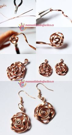 Are you enthusiastic about handmade DIY jewelry? - Are you enthusiastic about handmade DIY jewelry? Did you think a … – Steampunk DIY Jewelry – - Diy Jewelry Rings, Wire Jewelry Designs, Old Jewelry, Diy Jewelry Making, Simple Jewelry, Copper Jewelry, Jewelry Crafts, Jewelry Art, Beaded Jewelry
