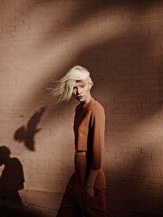 Aline Weber by Annemarieke van Drimmelen for Vogue Netherlands