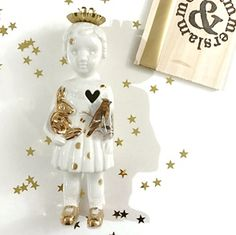 Kerst editie Popje 15 #limitededition #kerstpopje #lammersenlammers #dutchdesign #special #ceramicdoll