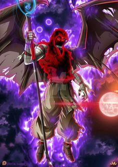 OC : ranked - Yami Morningstar by Maniaxoi on DeviantArt Dbz, Evil Goku, Digimon Wallpaper, Anime Galaxy, Morning Star, Dragon Ball Gt, Anime Characters, Character Art, Anime Art