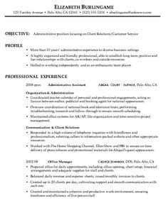 Customer service resume  Resume and Customer service on Pinterest