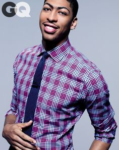 Anthony Davis for  GQ
