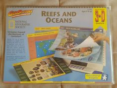 GeoSafari Reefs Amp Oceans Cards Set EI 7980 Special Edition 3 D Geo Pack | eBay