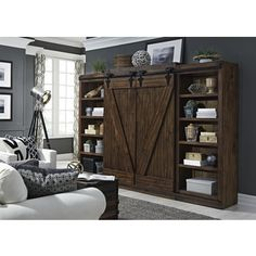 Shop for Lancaster III Rustic Tobacco Entertainment Center with Piers. Get free shipping at Overstock.com - Your Online Furniture Outlet Store! Get 5% in rewards with Club O!