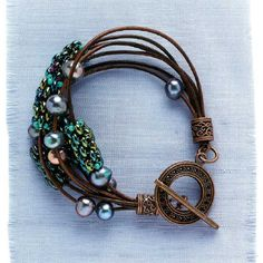 Leather Jewelry-Making Projects: Free Embossed Leather Bracelet and More! - Interweave