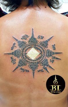 Done traditional Thai sak yant tattoo by Ajarn Ta(www.bt-tattoo.com) #bttattoo #bttattoothailand #thaitattoo #sakyant #thaibambootattoo #thaibamboo #bambootattoo #bambootattoobangkok #bangkoktattoo #bangkoktattooshop #bangkoktattoostudio #thailandtattoo #thailandtattooshop #thailand #bangkok #tattoo