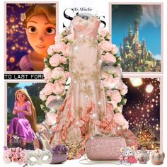 """Rapunzel: Ball"" by karlynedc on Polyvore"
