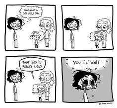 Brutally Honest :: Ugly | Tapastic Comics - image 1