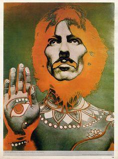 Richard Avedon 1966 George Harrison, Portrait, Tattoo