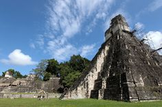 """The Tikal National Park is located in the northern part of Guatemala. Tikal means """"City of the voices of the spirits"""""""
