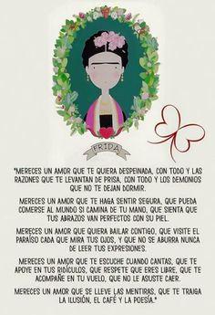 Mereces... #amor #Frida