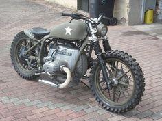 US army style bike