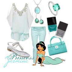 Modern Princess Chic with Princess Jasmine. Follow my Disney clothing updates on Instagram @DisThreads