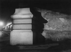 The world of old photography: Brassaï: Le pilier du Métro . Henry Miller, The Magnificent Seven, Brassai, Image Sheet, Film Studies, Gelatin Silver Print, French Photographers, Grand Palais, Documentary Photography