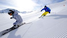 Testa manchester i Val Thorens. Skiing Snow winter STS Alpresor puder skidresa Alperna