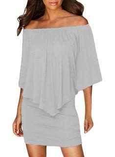 Women Clothing Designers The Best Multiple Dressing Layered Grey Mini Poncho Dress Poncho Dress, Side Slit Dress, Purple Mini Dresses, Oversized Dress, Dresses For Work, Dressing, Plus Size, Spandex, Clothes For Women