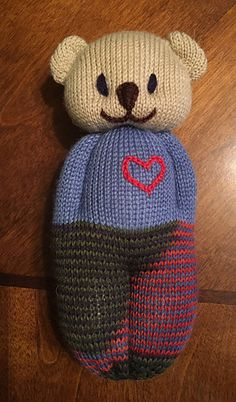 Loom Knitting, Hand Knitting, Amigurumi Patterns, Knitting Patterns, Knitted Dolls, Sock Yarn, Charity, Free Pattern, Knit Crochet