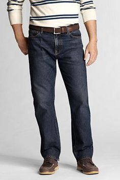 Lands end men's denim made in the usa