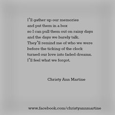 What We Forgot Poem - Poems - Poetry - Quotes by Christy Ann Martine #sad #quotes #christyannmartine