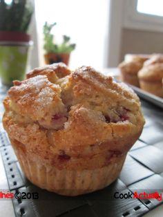 Cook Actually: Muffins de fresa y ricotta