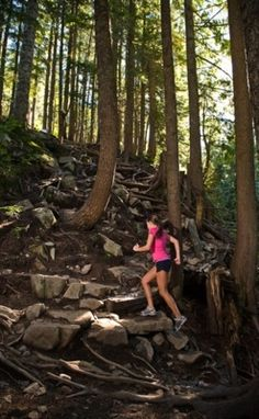 trail running :) ;; this reminds me of pinnacle;; I would <3 to do it again!!