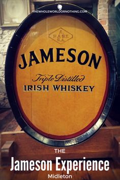 The Jameson Experience Midleton | Ireland's Best Whiskey Tour | Best Things To Do In Ireland | Irish Whisky Tour | Top Things To See In Ireland | Ireland Road Trip Itinerary | What To Do In Ireland | What To Do In Cork | Best Bits Of County Cork Ireland