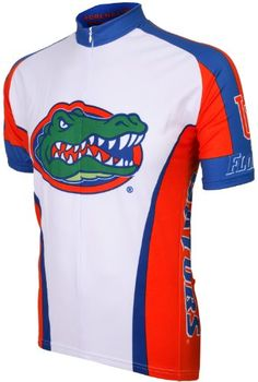 NCAA Florida Cycling Jersey WhiteMulti Large -- You can find out more  details at the · Road Bike JerseysCycling ... 78270659c