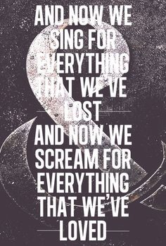 the storm. of mice & men. ♥