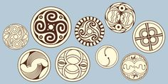 resemblance to some Celtic symbols Sacred Meaning, Egg Crafts, Egg Art, Pretty Designs, Egg Decorating, Ancient Artifacts, Silk Painting, Prehistoric, Mandala
