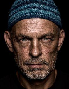 man portrait face Dieter Gutfried - Saxophonist.