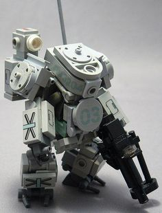 LEGO Mech. More detailed this time...very good.