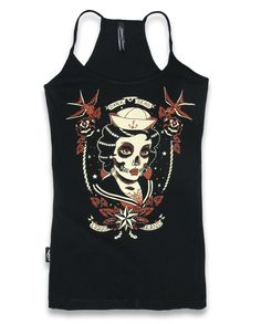 Liquor Brand DARK SEAS Damen Tank Tops