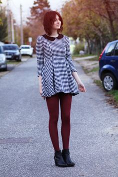 I want dark colored tights for fall- burgundy, mustard or dark teal