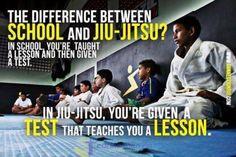 Too bad school wasn't like jui jitsu