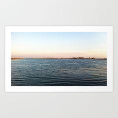 Lake Art Print by Rachel Winkelman - $15.00