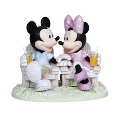 2014 Precious Moments Disney   Precious Moments Disney Mickey & Minnie Mouse Always Be My Side New ...