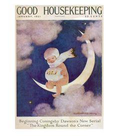 Good Housekeeping magazine cover, January 1921 Jessie Willcox Smith