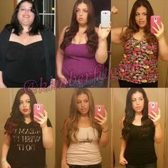 "Are you trying to make a transformation? Whats working for you?  Want to Make a Transformation Like This? Check bio for our Five Star 90-day Transformation Program!  Use #TransformFitspoCommunity for a chance to Get Your Transformation Featured  @kimberfitgirl ""Last winter I was the bottom left picture. I can't believe all that's happened in a year! This whole journey took multiple years. I'm not the girl who lost 173lbs overnight and is here to sell you false hope. The fact is I struggled…"