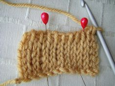 Quelques points crochet tunisien