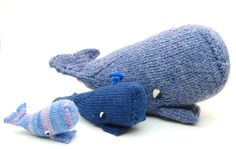 Knitting: Whales