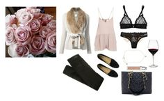 Outfit by missalmida on Polyvore featuring polyvore fashion style Yves Salomon Mason by Michelle Mason Pepe Jeans London Mimi Holliday by Damaris Cole Haan Chanel Juicy Couture Christian Dior Holmegaard women's clothing women's fashion women female woman misses juniors