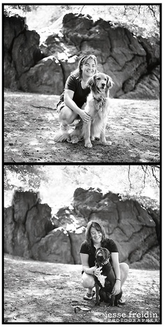 We hear there is a big snow storm hitting New England right about now. To lift your East Coast spirits, here is a diptych from two wonderful New York clients I photographed in Central Park during a hot summer day a few years ago.