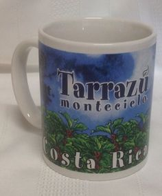 Cafe Britt Coffee Co Costa Rica Terrazu Montecielo Coffee Mug #WorldCup2014 #CRCvsENG
