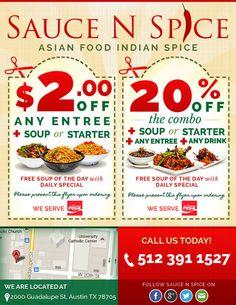 Sauce N Spice Restaurant - Red Spot Design