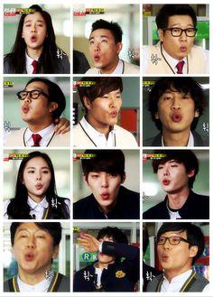 Running Man Run! Running Man Song, Running Man Korean, Korean Tv Shows, Korean Actors, Running Man Members, Monday Couple, Kim Jong Kook, Kwang Soo, Hallyu Star