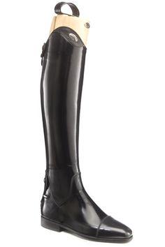 Saxon, Stivali da Equitazione Donna Dress (Plain) UK 4 Wide
